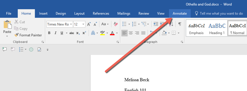 Annotate PRO for Microsoft Word - Insert Comments - 11trees