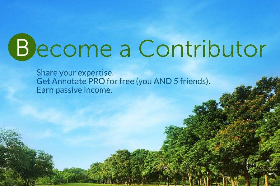 Become an 11trees Contributing Author